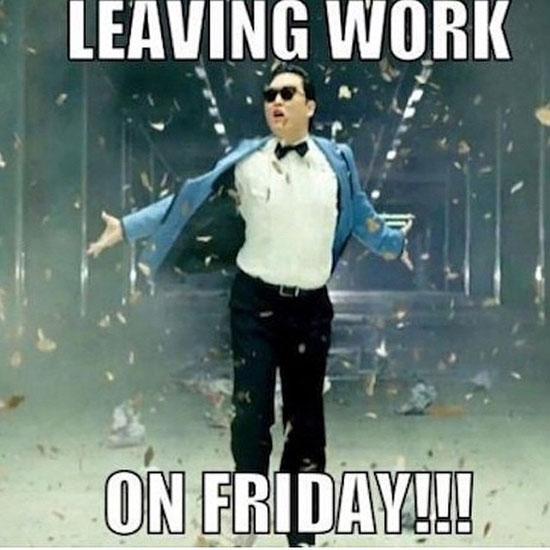 Leaving Work On Friday Friday Meme
