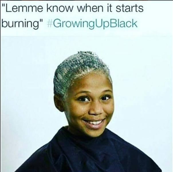 Lemme Know When Hair Meme