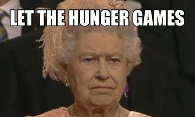 Let The Hunger Games July Meme