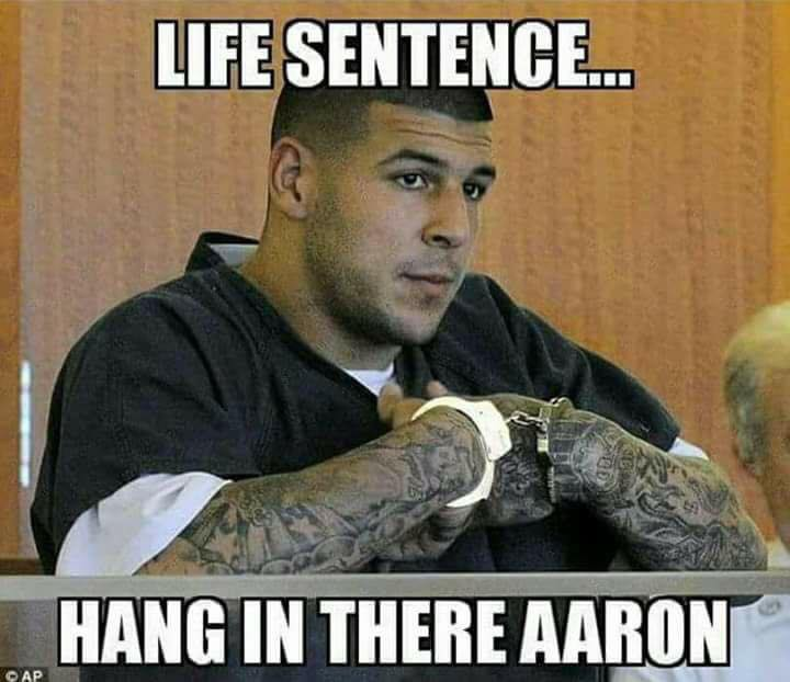 Life Sentence Hang Aaron Memes