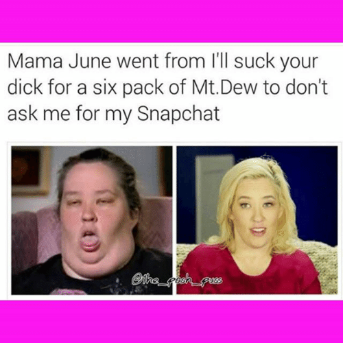 Mama June Went From June Meme