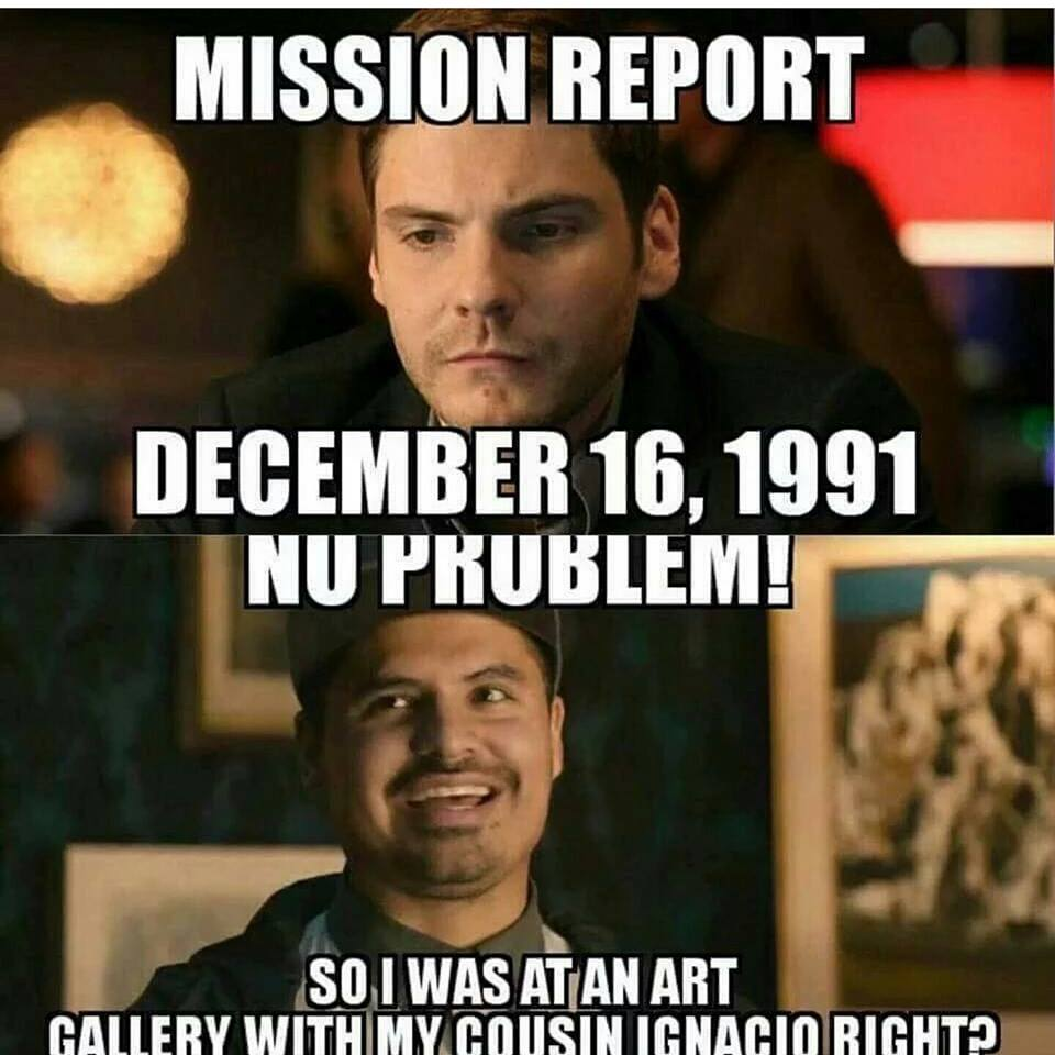 Mission Report Demember 16 December Meme