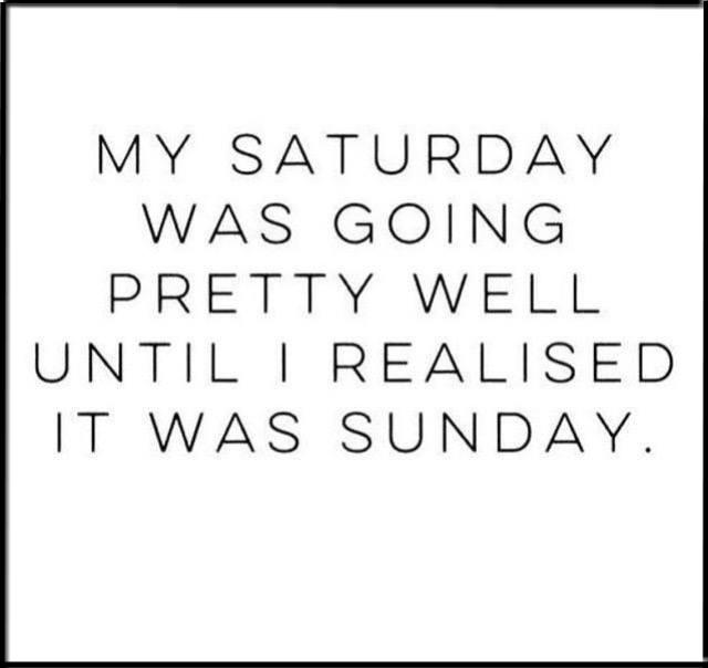 My Saturday Was Going Sunday Meme
