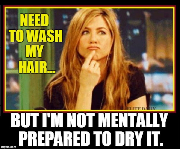 Need To Wash Hair Meme