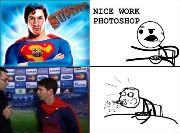Nice Work Photoshop Superman Memes