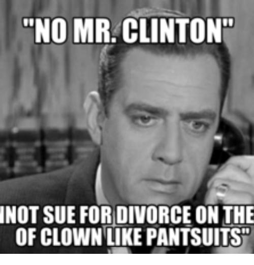 No Mr Clinton Im April Meme