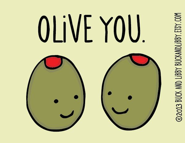 O Live You Olive Meme