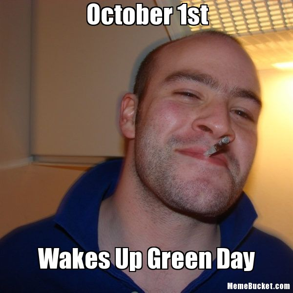 October 1st Wakes Up October Meme
