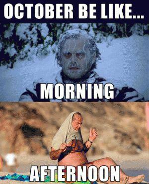 October Be Like Morning October Meme