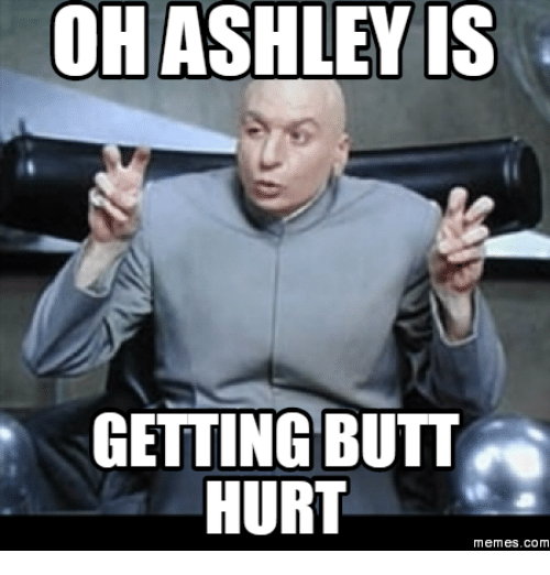 Oh Ashley Is Ashley Meme