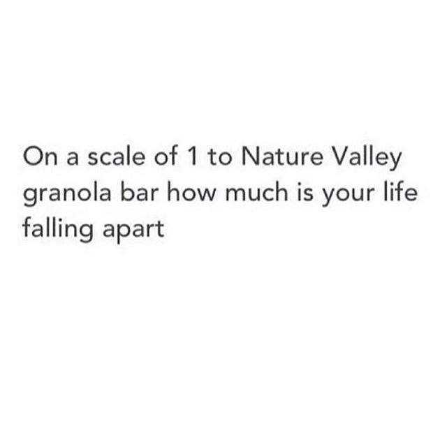 On A Scale Nature Valley Meme