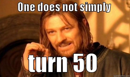 One Does Not Over The Hill Meme