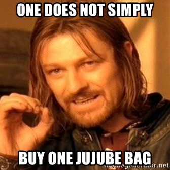 One Does Not Simply Jujube Meme