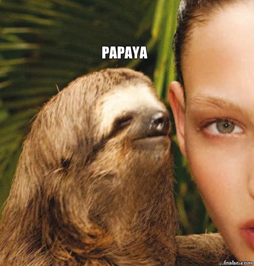 Papaya Papaya Meme