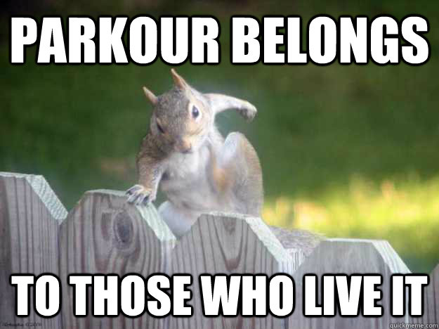 Parkour Belongs To Parkour Meme