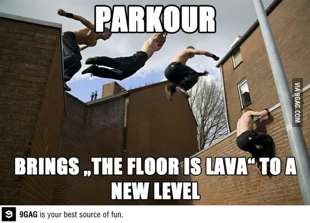 Parkour Brings The Parkour Meme