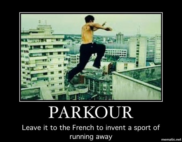 Parkour Leave It To Parkour Meme