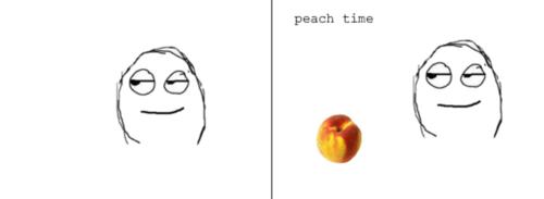 Peach Time Peach Meme