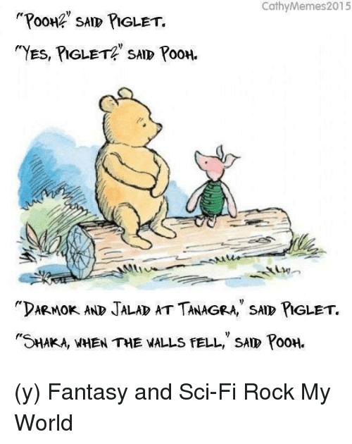 Pooh Said Piglet Pooh Piglet Meme