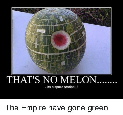 That's No Melon Its Melon Meme