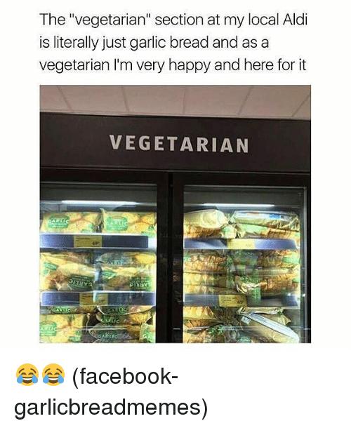 The Vegetarian Section Aldi Meme
