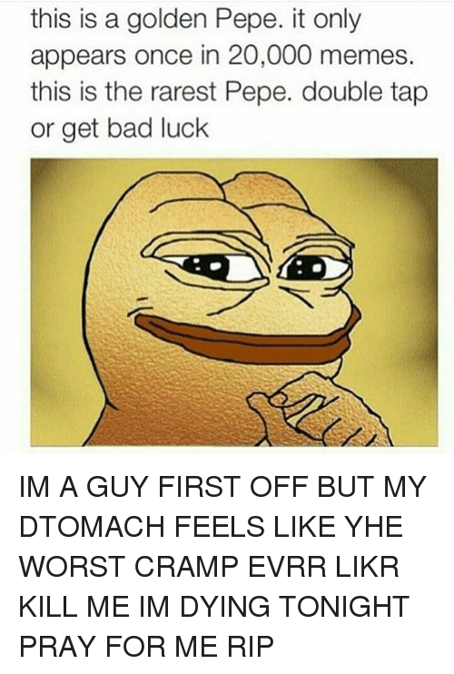 This Ia A Golden Pepe Golden Meme
