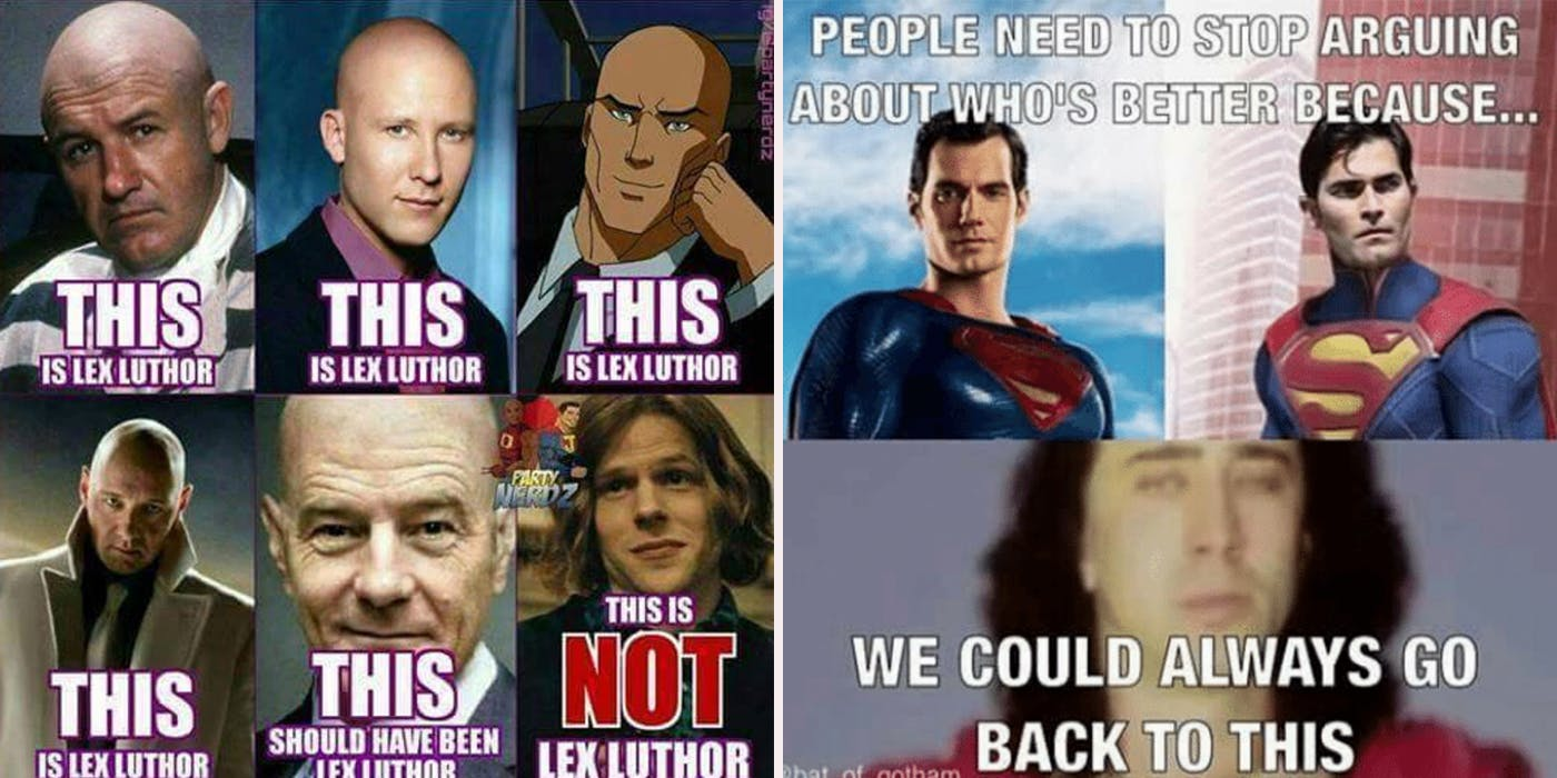 This Is Lex Superman Memes