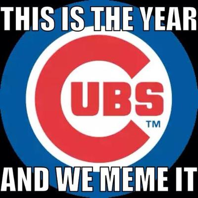 This Is The Year And We Meme It Cub Meme