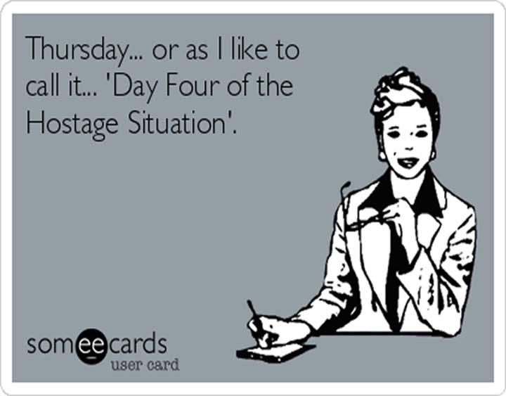 Thursday.. Or As I Like Thursday Meme