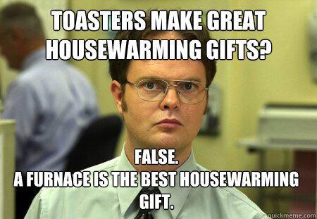 Toasters Make Great Housewarming April Meme