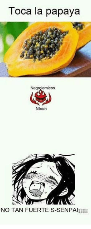 Toca La Papaya Nilson Papaya Meme