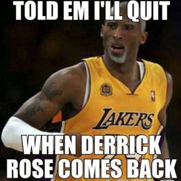 Told Em I'll Derrick Rose Memes