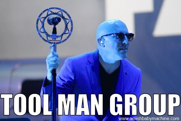 Tool Man Group Blue Meme