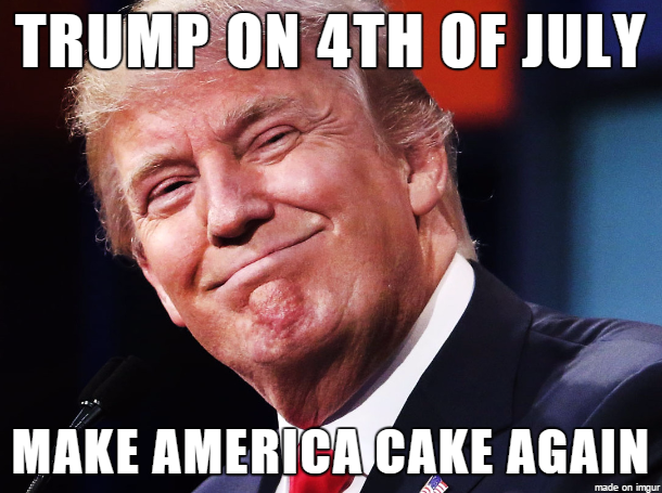 Trump On 4th Of July Meme