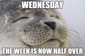Wednesday The Week Is Now Wednesday Meme