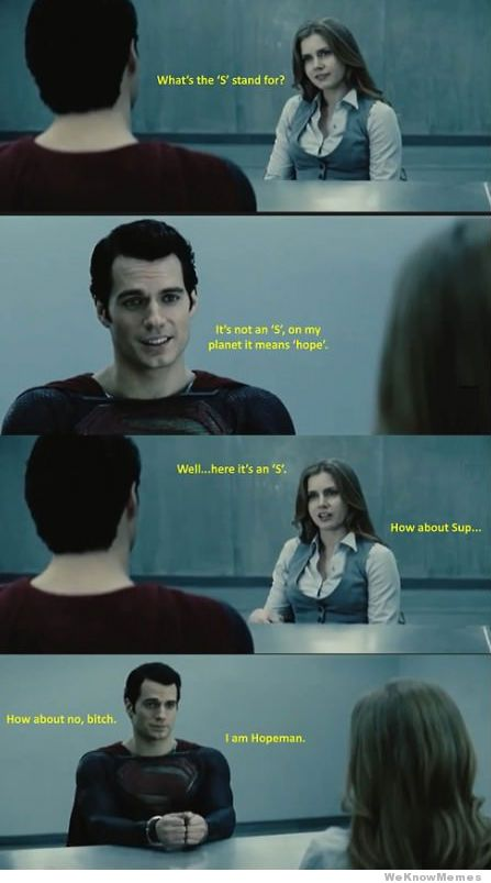 What's The S Superman Memes