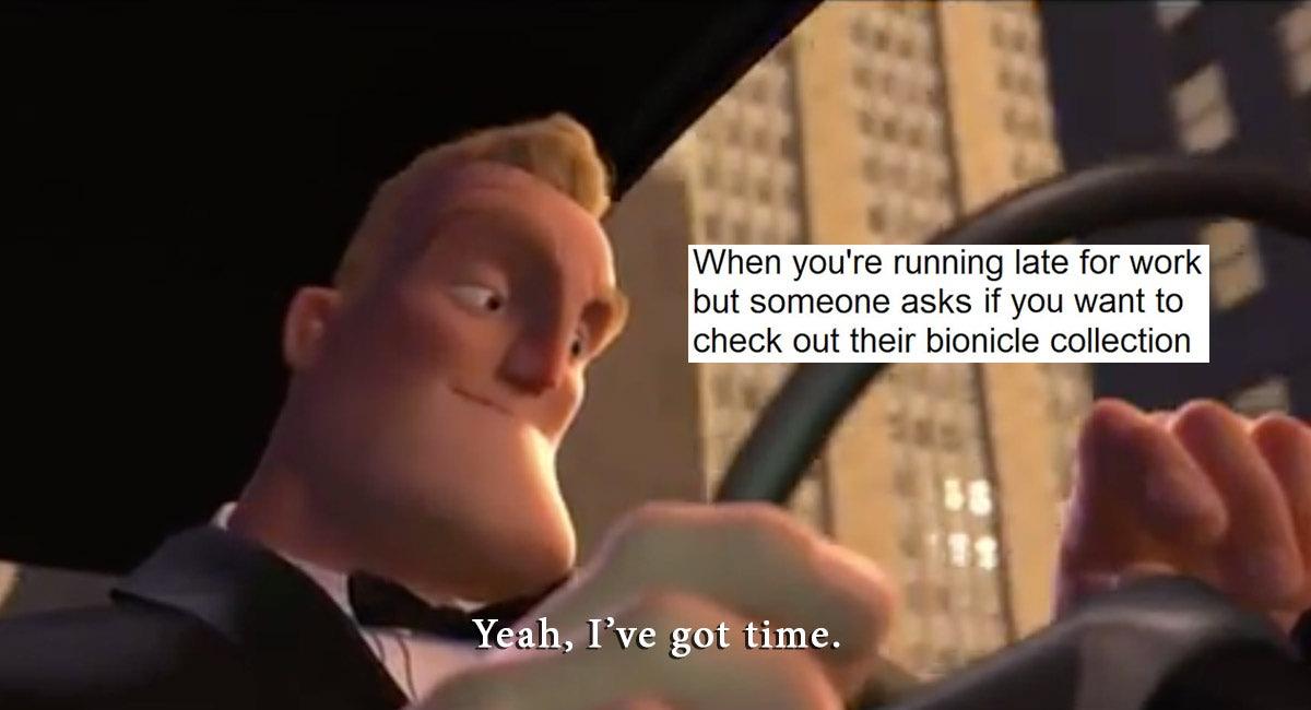 When You're Running Incredible Meme