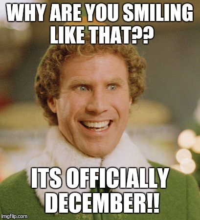 Why Are You Smiling December Meme