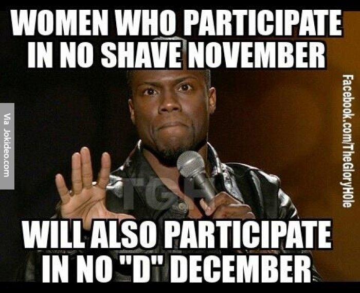 Women Who Participate In November Meme