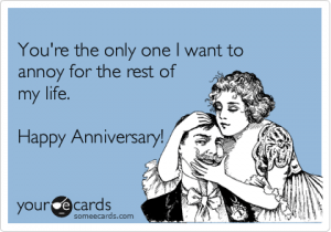 You're The Only Happy Anniversary Meme