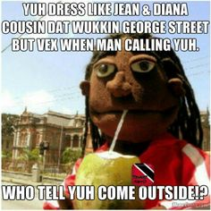 Yuh Dress Like Jean Tamarind Meme