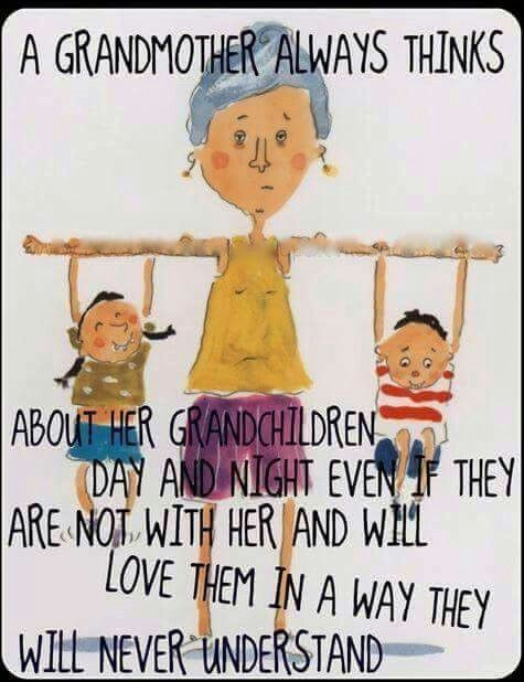 A Grandmother Always Thinks Grandchild Meme