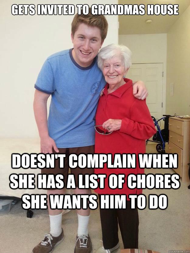 Gets Invited To Grandmas Grandson Meme