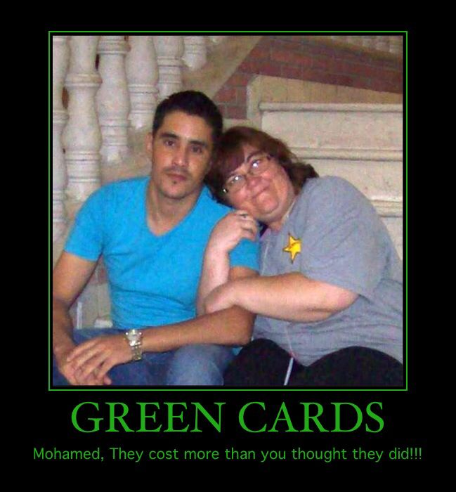 Green Cards Mohamed They Fiance Meme