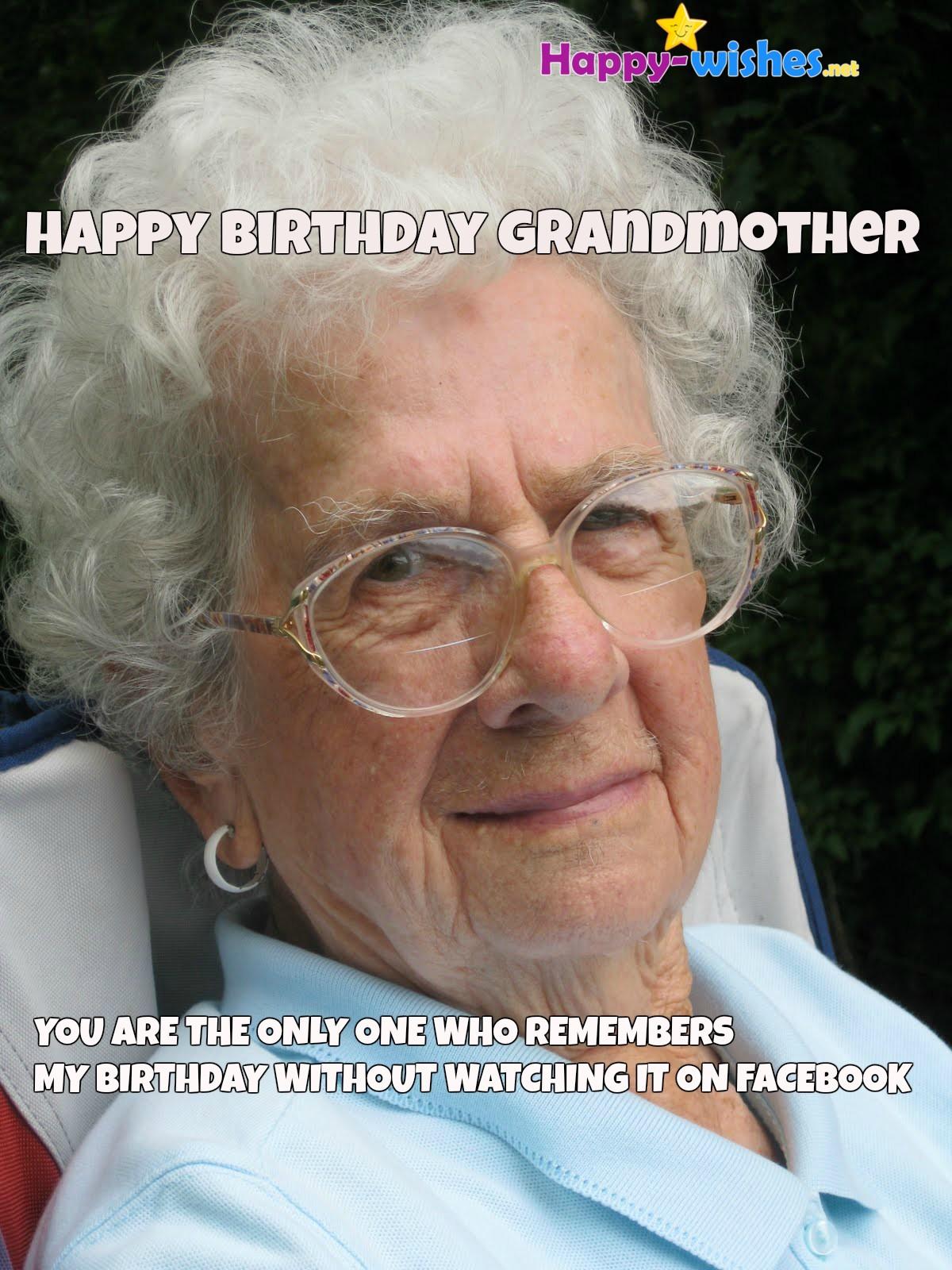 19 Amusing Grandmother Birthday Meme Images & Photos ...