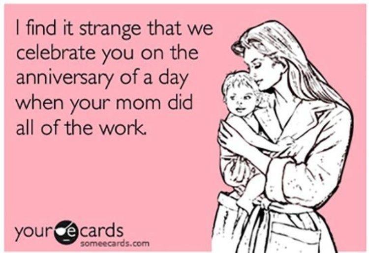 I Find It Strange Daughter Birthday Meme