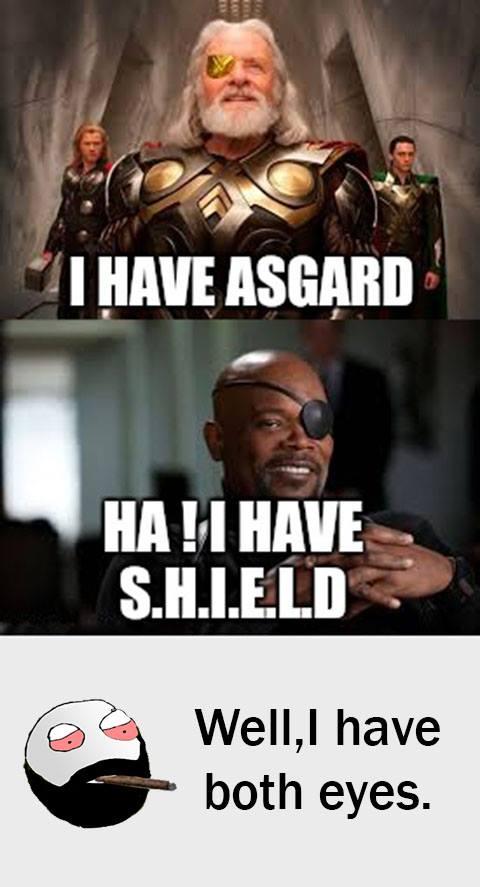 I Have Asgard Ha Bro Meme