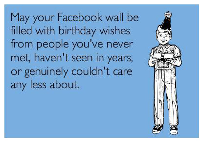 May Your Facebook Wall Birthday Meme
