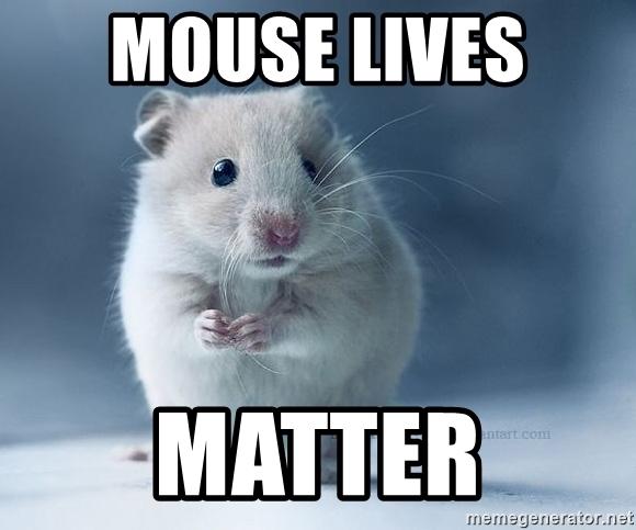 Mouse Lives Matter Mice Meme