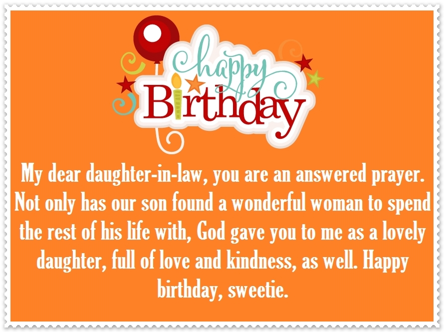 My Dear Daughter In Law Daughter Birthday Meme